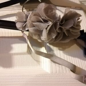 Ann Taylor Accessories - Ann Taylor Headband grey flowers with jewels